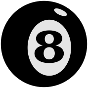 number 8 ball (2c)