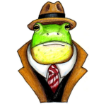 Very Dapper Frog