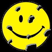 shot smiley
