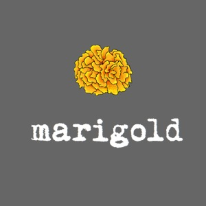 Marigold (white text)