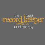 the great record keeper controversy - orange/white
