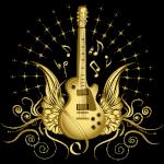 Golden Winged Guitar