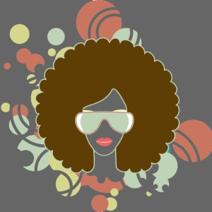 Brown Afro (Abstract)
