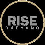 Rise - Bigbang Taeyang - Grey, Gold halo