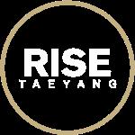 Rise - Bigbang Taeyang - White, Gold halo