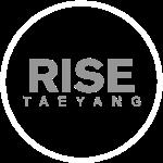 Rise - Bigbang Taeyang - Grey, White halo