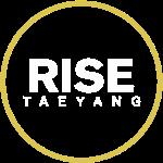 Rise - Bigbang Taeyang - White, Yellow halo