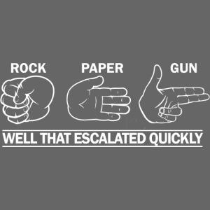 Rock Paper White FNT