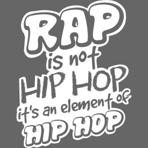 rap is not hip hop