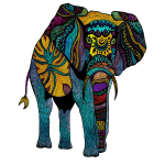 My Colorful Elephant