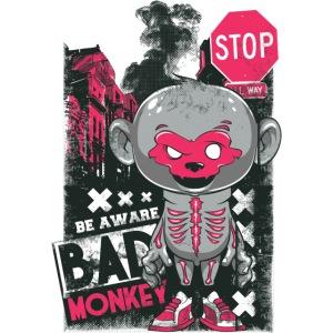 Bad Monkey Tie-Dye T-Shirt