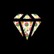 Watermelon Diamond Pattern