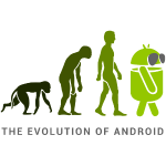 The evolution of Android!