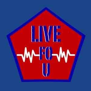 LIVE FO U BLUE png