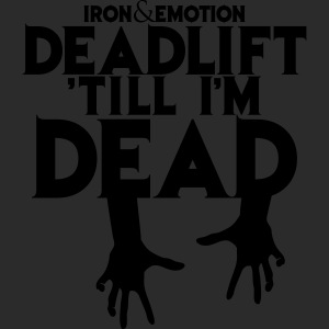 IRON&EMOTION DEADLIFT