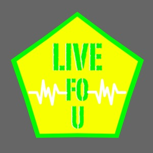 LIVE FO U LIME GREEN png