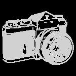 Vintage SLR - Grey