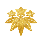 Kamakura-Minamoto-Mon-Japanese-clan-gold-on-black.png