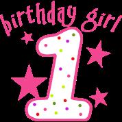 1st Birthday Girl Stars One Piece | Spreadshirt