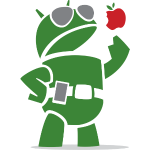 Android eats apples!