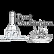 Port washington fishing long sleeve shirt spreadshirt for Port washington fishing