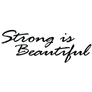 Design ~ Strong is Beautiful black