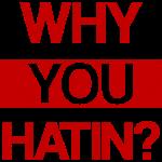 WHY YOU HATIN?