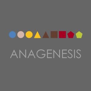 Minimalist design: anagenesis (dark background)