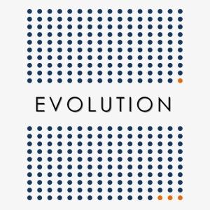 Minimalist design: evolution (light background)