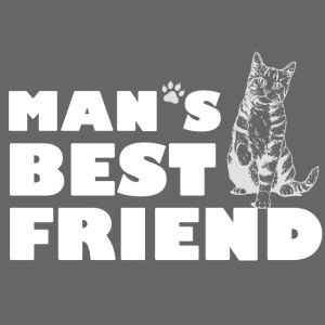 Man's Best Friend Cat Logo