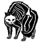 Scaredy Cat Black