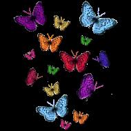 Design ~ Rainbow Butterflies