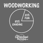 80% Sanding 20% Fun