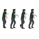 panic moonwalk