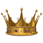 Crown Of King by Artify