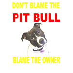 DON'T BLAME THE PITBULL