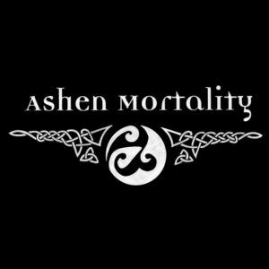 Ashen Mortality Logo Button