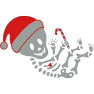 Design ~ Santa Skelly Baby™  Boy