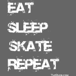 Eat Sleep Skate Repeat wb TD