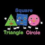Triangle, Square, Circle