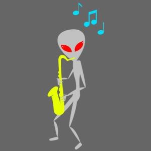 Alien UFO Jazz