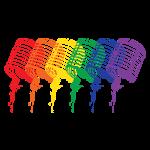 Rainbow Microphones