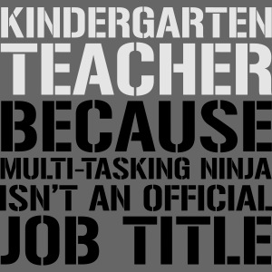 Kindergarten Ninja Teacher Funny Teachers T-Shirts