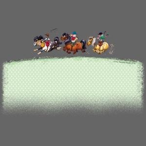 Three Jockeys Thelwell