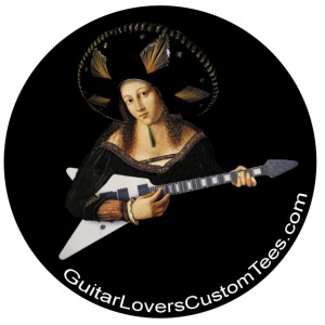 BigHatGuitar by GuitarLoversCustomTees png