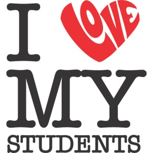 I Love My Students Women's T-Shirts