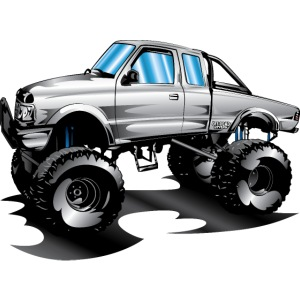 Lifted 4x4 Ford Truck