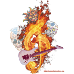 GuitarFireClef by GuitarLoversCustomTees.png