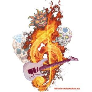 GuitarFireClef by GuitarLoversCustomTees.png