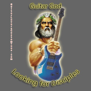 GuitarGod by GuitarLoversCustomTees png